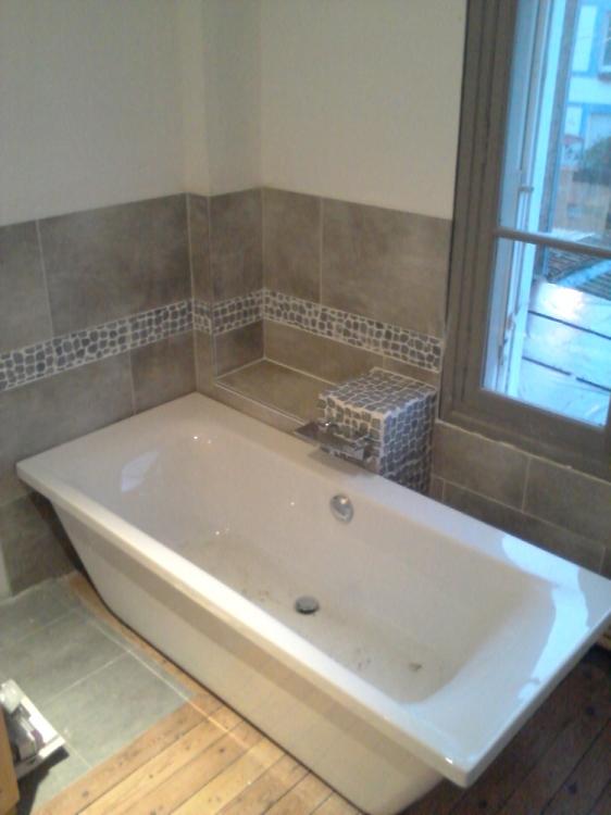cr ation salle de bain avec baignoire le havre montivilliers bl ville epouville honfleur. Black Bedroom Furniture Sets. Home Design Ideas